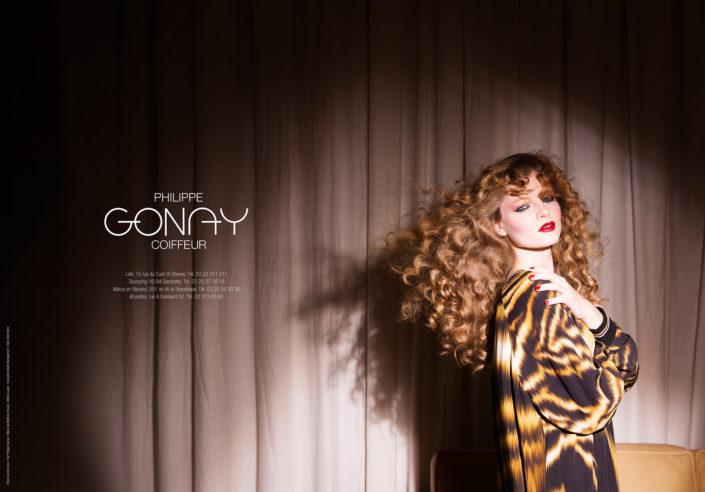 © Copyright Caroline Coo - Shooting modèle & coupe de cheveux - salon de coiffure Philippe Gonay