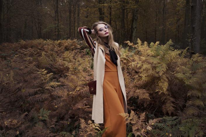 © Copyright Caroline Coo -photographe de mode- inspirations automne avec Mathieu Droulez Makup artist et l'agence Exception.